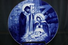 Avon 1991 The Holy Family Collectible Porcelain Plate With Box