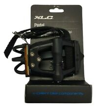 """XLC Cycle Bike Cycle Road Pedals And Toe Straps, 9/16"""". PD-R01. 2501821800"""