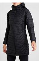 NEW Columbia Women Powder Lite Mid  Hooded Jacket, XS-S-M-L-XL