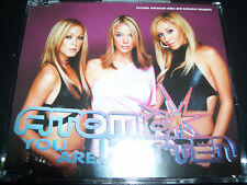 Atomic Kitten You Are +  Megamix (Australia) CD Single – Like New