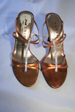 Mules Slim 100% Leather Upper Heels for Women