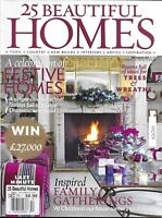 25 Beautiful Homes Magazine Festive Homes Trees And Wreaths Family Gatherings