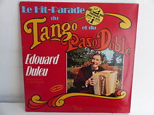 EDOUARD DULEU Le hit parade du tango et du paso doble 404522 MUSETTE ACCORDEON
