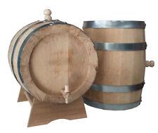 Baril Tonneaux chêne 15 litres lt épaisseur lattes 2.7 cm barrique Frotter.