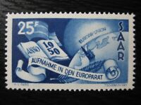 SAAR SAARLAND Mi. #297 scarce mint stamp! CV $30.00