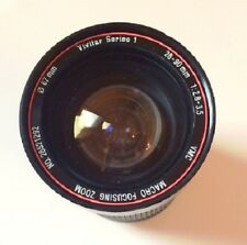 VIVITAR Canon FD Mt Series 1 28~90mm f/2.8~ 3.5 Macro Focusing Zoom Lens