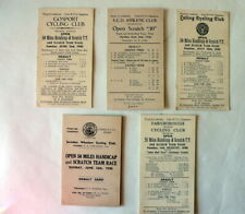 1940 Battle of Britain &  Vintage  British Cycle Racing documents .