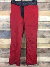Vintage Brooks Leather Sportswear Leather Pants 32x30 Made In USA Detroit MI