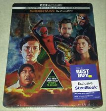 New Spider-Man Far From Home 4K UHD/Blu-ray/Digital Steelbook™ Bestbuy Exclusive