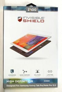 ZAGG - InvisibleSHIELD for Samsung Galaxy Note PRO 12.2 and Galaxy Tab PRO 12.2