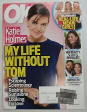 OK! Magazine Katie Holmes & Gwyneth Paltrow Cameron Diaz May 2014 051115R