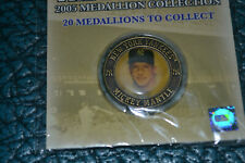 SEALED MICKEY MANTLE NEW YORK POST 2005 YANKEES MEDALLION THE IMMORTALS MINT