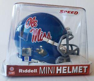 OLE' MISS Mini-Helmet by RIDDELL New In Box!!!
