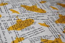 "THE BEATLES Fabric Fat Quarter FQ ""Yellow Submarine"" COTTON Rock & Roll Musician"
