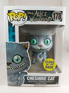 Disney Funko Pop - Cheshire Cat (Glow) - Alice in Wonderland - No. 178