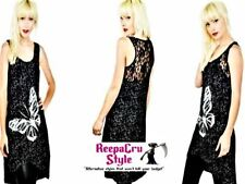 B20 Popular Innocent Lifestyle Goth Fashion Punk Rock Butterfly Tunic Flytop