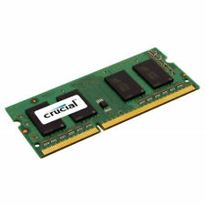 1 X Crucial 8GB DDR3 Sodimm PC Portable RAM 1600Mhz 204pin PC3-12800S