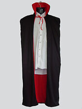 Super Hero Halloween Vampire Capes Costume Accessories Red/Black Fancy Dress