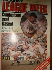 Rugby League Week July 9, 1977 Vol: 8 No: 20