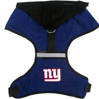 New York Giants NFL Licensed Pets First Dog Hoodie Harness Sizes S-L