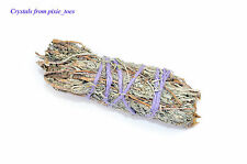 "Sweet Smelling Sage Smudge Stick, 4"" (10cm) Cleanse & Remove Negativity Wiccan"