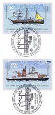 BRD 2001: Schiffe! Blockmarken Nr 2229+2230 mit Berliner Sonderstempeln! 1A 1701
