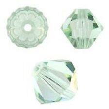 Swarovski Crystal Bicone. Chrysolite Color. 4mm. Approx. 144 PCS. 5328