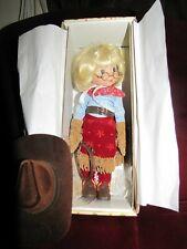 """Ann Estelle 10"""" Ride'em Cow girl Doll"""