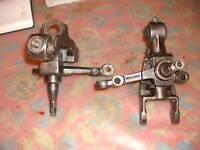 fuselli ruota fuso a snodo/Steering Knuckles originali  fiat 600 D