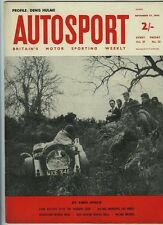 AUTOSPORT NOV 27A 1964 * DUE MINI COOPERS ROAD TESTED & DENIS HULME profilo *