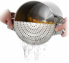 """Westmark Stainless Steel Pan Pot Strainer Suitable For All Sizes Up to 10"""""""