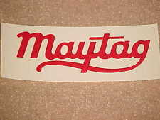 Maytag Wringer Washer Script Decal SKID Gas Engine Multi Motor