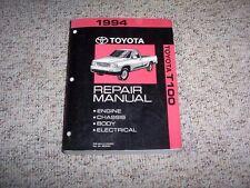 1994 Toyota T100 Pickup Truck Shop Service Repair Manual DX SR5 2.7L 3.0L V6 4WD