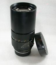 Leica Leitz Canada TELYT-R 250mm F4 Telephoto Lens 3 CAM No. 2406683