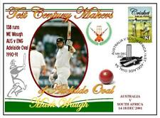 ADELAIDE OVAL TEST CENTURY's CRICKET COVER, MARK WAUGH