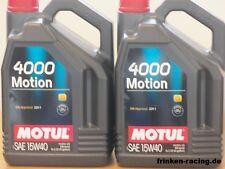 5,50€/l Motul 4000 Motion15W-40 2 x 5 Ltr PKW Ganzjahresmotoröl