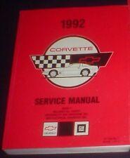 Original Atelier Manuel/Boutique Manual Chevrolet Corvette C 4 1992