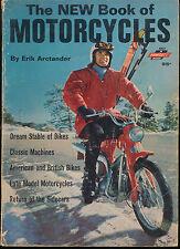 New Book Motorcycles Erik Arctander Vtg 1968 1960S Photo Ads  American British