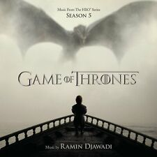 Game of Thrones Season 5 Original Soundtrack (Ramin Djawadi) - NEW CD (sealed)