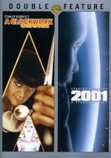 A Clockwork Orange / 2001: A Space Odyssey [New Dvd]