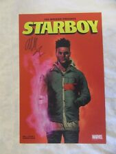 The Weeknd Signed 2017 NYCC Exclusive Starboy Marvel Poster New York Comic Con