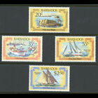 BARBADOS 1982 Early Marine Transport. Ships SG 701-704 Mint Never Hinged (AX085)