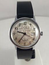 montre mécanique Kelton date water resistant  armachoc vintage  fonctionne