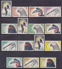 Guinea 263-74 & C41-43 MNH 1962 Various Birds w/Airmail Issues (See Description)