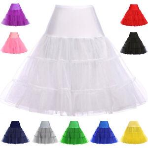 """RULTA  Vintage Petticoat 26"""" Retro Underskirt 50s Swing Fancy Net Skirt Rock B1"""
