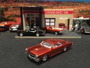 1:64 Hot Wheels Limited Edition 1966 66 Pontiac GTO Burnt Orange
