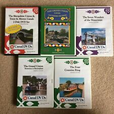 More details for job lot 5 x canal journey dvds grand & shropshire union / trent & mersey / barge