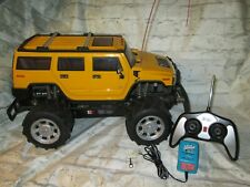 Radio Shack RC Remote Control 1/10 Scale 4WD 2004 H2 Hummer Tested Runs Great!