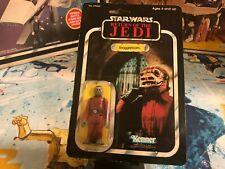 1983 PBP Star Wars ROTJ Return of the Jedi 77Bk Snaggletooth Action Figure MOC
