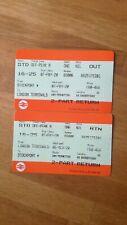 Unused train ticket London-Stockport 16-25 railcard *any off-peak train*